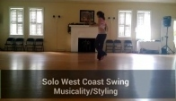 Solo West Coast Swing Drill