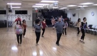 Step Back in Time Beginner Line Dance Demo