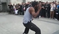 Street dance Robot Pop-up  Paris