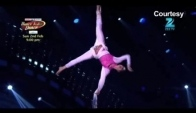 Swarali's aerial dance in Dance India Dance