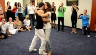 Tarraxinha lesson with Miguel Montiero and Susana