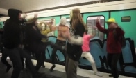 The Harlem shake Paris metro