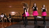 The Nashville Irish Step Dancers perform