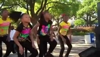 These Little girls can get down-MoorUneque Performs at the Dallas City Arts Festival