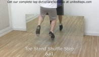 Toe Stand Shuffle Step Tap Dance Move n by Rod Howell