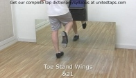 Toe Stand Wings Tap Dance Move n by Rod Howell