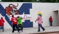 Tommy the clown and his group