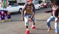Tommy the clown at kaykay bday party