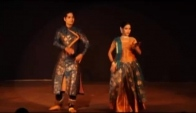Upaj footwork improvisation in kathak dance