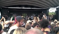 Vans Warped Tour Sws mosh pit pittsburgh pa