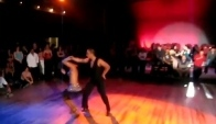 Vassili and Christina perform sexy Rumba Salsa dance at Century Ballroom