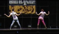 Vogue waacking dance style Mizuki Flamingo and Monica