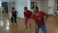Waacking dance practice on Kamali Thump Gwalior