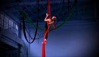 Year old aerial dancer and choreographer