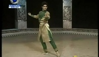 Young Male Kathak Dancer