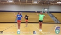 Youth Cheer Dance Tutorial - Cheerleading dance