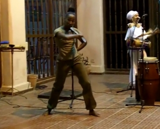 Afro Cuban dance