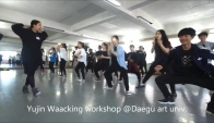 dance camp waacking choreography by yu
