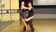 Jose and May Bachatango Queenland Latin Open Professional - Kate Baba