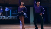 Salsa Los Angeles L.A. Style On 1-3rd place - Latin Dance Cup 2011